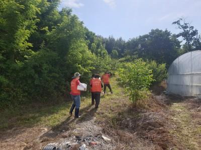 농촌일손돕기 자원봉사활동