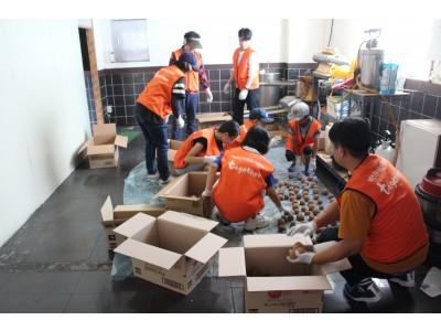 예천군청소년자원봉사단 8월 활동